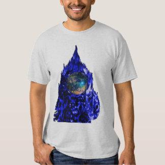HOMBRE de la llama azul ASTRO Camisas