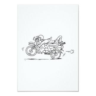 Hombre de la motocicleta del dibujo animado anuncios