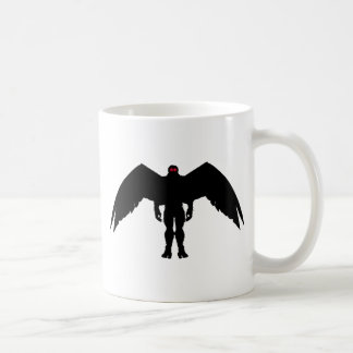 Hombre de la polilla taza de café