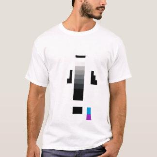 hombre de la tira de prueba camiseta