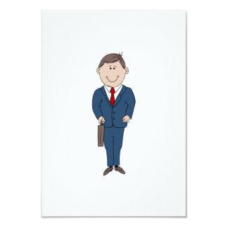 Hombre de negocios comunicado