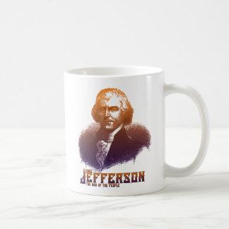 Hombre de Thomas Jefferson de la taza de la gente