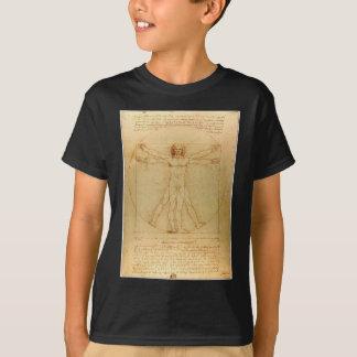 Hombre de Vitruvian de da Vinci Camiseta
