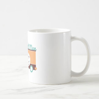 Hombre del buñuelo taza de café