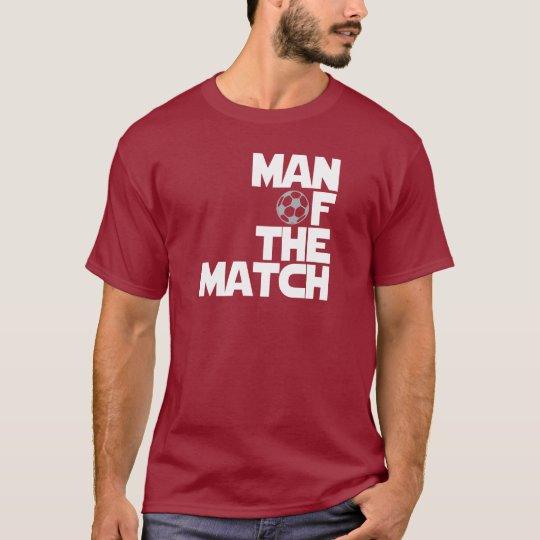 hombre del partido camiseta