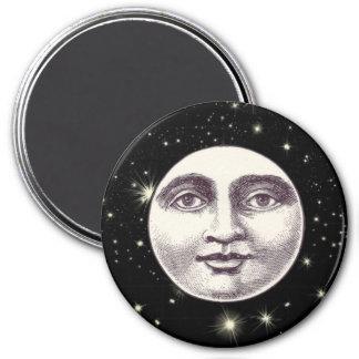 Hombre del Victorian en el imán de la luna