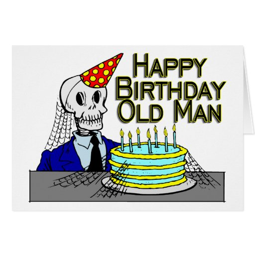 Hombre del Web de araña del feliz cumpleaños viejo Felicitaciones