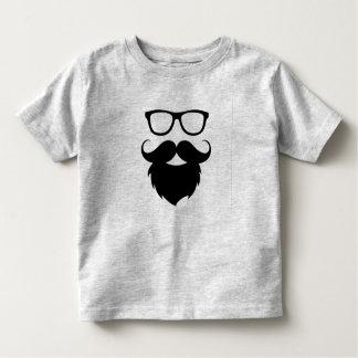Hombre divertido maduro de la barba camiseta de bebé