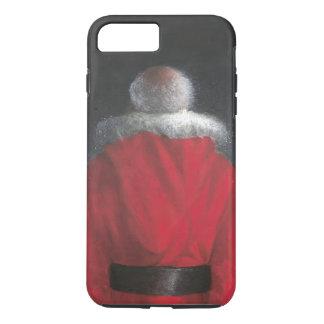 Hombre en capa roja funda iPhone 7 plus