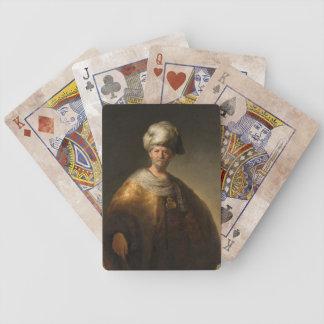 Hombre en traje oriental por Rembrandt Van Rijn