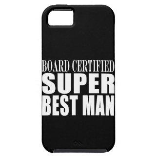 Hombre estupendo certificado tablero del favor de iPhone 5 Case-Mate carcasa