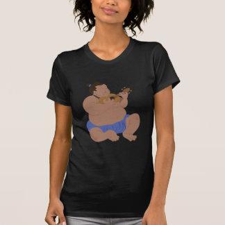 Hombre hawaiano camisetas