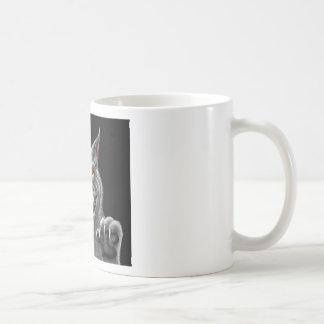 Hombre lobo feroz taza de café