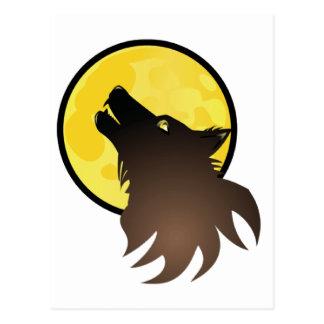 Hombre lobo postal
