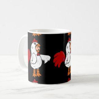 Hombre Pollo Taza De Café