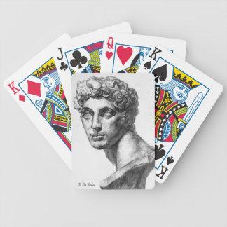 Hombre - sistema de tarjeta cartas de juego