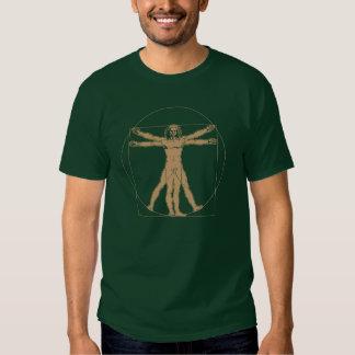 hombre vitruvian - Leonardo da Vinci Camiseta
