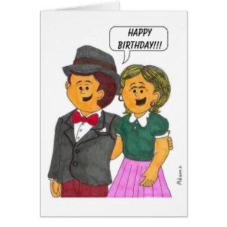 ¡HOMBRE Y ESPOSA, feliz cumpleaños!!! Felicitacion