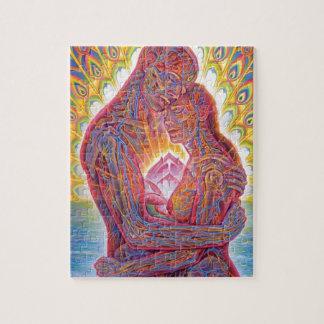 Hombre y mujer puzzle