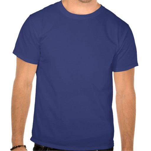 Hombres azules e ITALIA blanca Camiseta