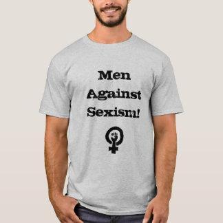 Hombres contra la camisa del sexismo