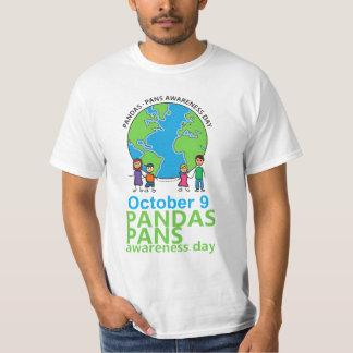 Hombres de la camiseta del día de la conciencia de
