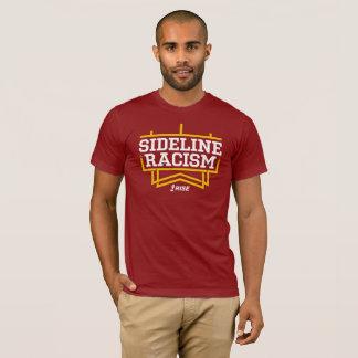 Hombres de la camiseta del racismo de la línea