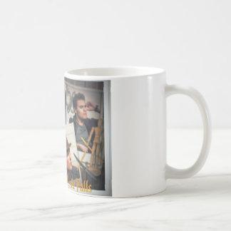 Hombres de taza de café mística de las caídas