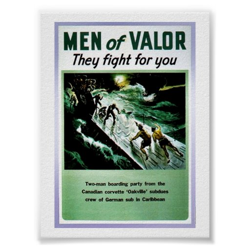 Hombres de valor poster