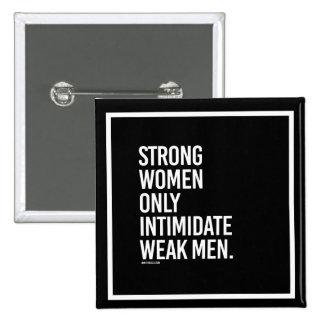Hombres débiles del intimdate fuerte de las chapa cuadrada