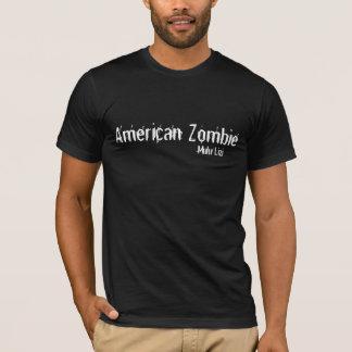Hombres del estilo del AA del zombi Camiseta