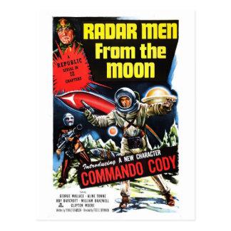 """""""Hombres del radar postal de la luna"""""""