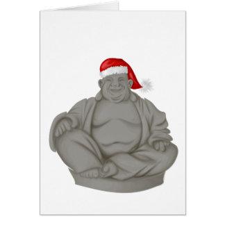 Hombres gordos felices tarjeta de felicitación