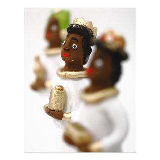Hombres sabios africanos folleto 21,6 x 28 cm