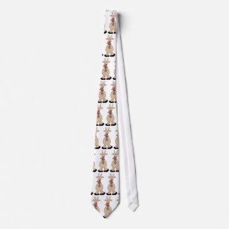 Hombres sedosos de la diversión del navidad cómico corbata