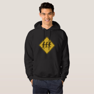 Hombres su mamá Warned You About Hoodie Sudadera