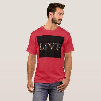 Hombres vivos de la camiseta de Boho