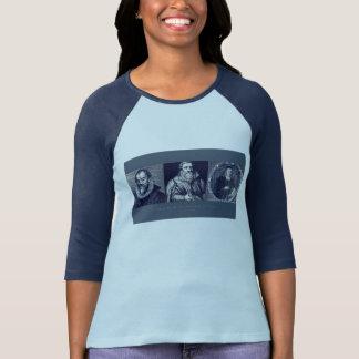 Hombros de la camiseta de las mujeres de Giants