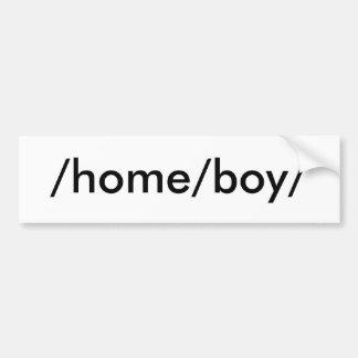 /home/boy/ pegatina para coche
