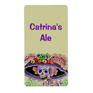 Homebrewing suministra etiquetas del brew casero etiqueta de envío