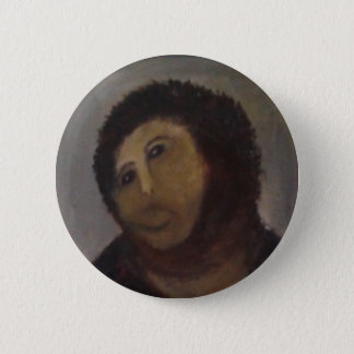 Homo de Ecce Chapa Redonda De 5 Cm