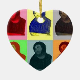 Homo de Ecce - estilo del arte pop Adorno De Cerámica