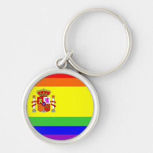 homosexual orgulloso gay de la bandera del arco ir llavero