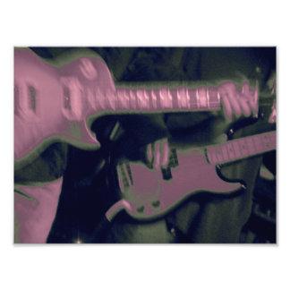 Honderos de la guitarra fotografía