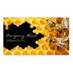 Honey Seller - Beekeeper Plantillas De Tarjetas De Visita