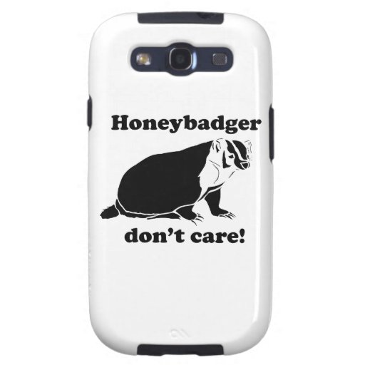 Honeybadger no cuida galaxy SIII protectores
