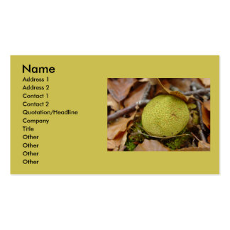 Hongos #2 del bosque tarjetas personales