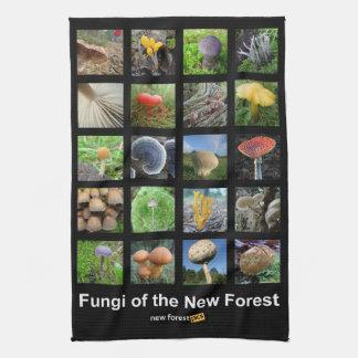 Hongos del nuevo teatowel del bosque toallas