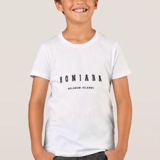 Honiara Solomon Island Camiseta