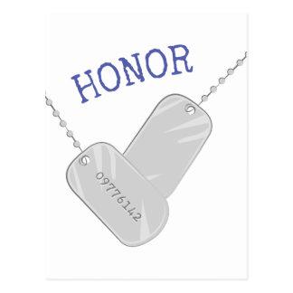 Honor Postal
